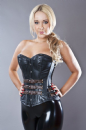 Bernia Napa Leather Steampunk Corset